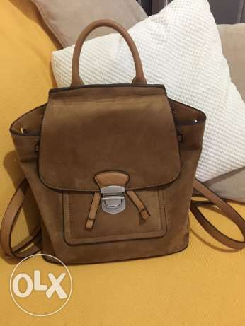 Parfois brown backpack