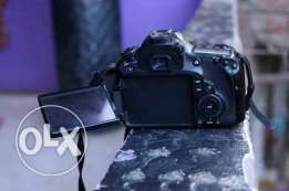 canon 60D with full kit