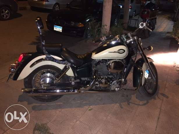 Honda shadow 400 العبور -  2