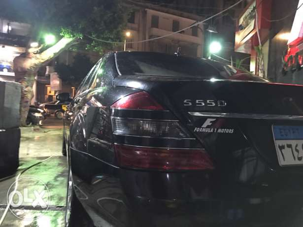 2009 Mercedes S550 black mint condition الإسكندرية -  3