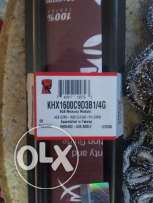مطلوب رامة kingston hayperx 4g ddr3 1600 cl9