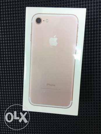 iPhone 7 Rose Gold 256 GB الوايلي -  1