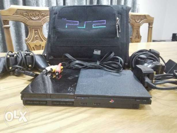 Play station 2 slim edition 2بلاي ستاشن