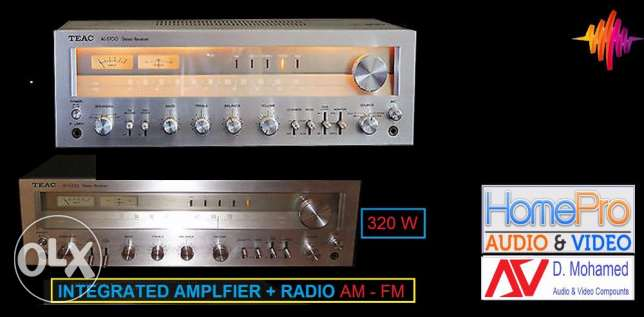 made in JapanIntegrated Amplifier 320 w