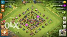 ايميل clash of clans town hall 7