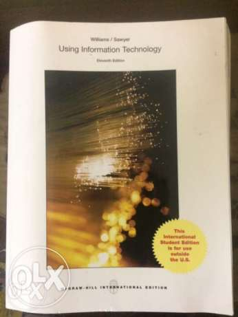 Using Information Technology 588 pages مدينة نصر -  1