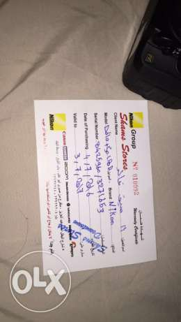 Nikon d610 used for 3 months only مدينة نصر -  2
