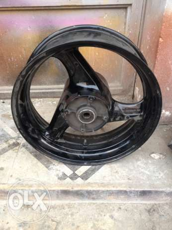 "original Honda 17"" rear wheel"