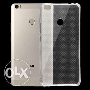 Xiaomi mi Max clear frosted cover جراب شفاف من السليكون لشاومي مي ماكس