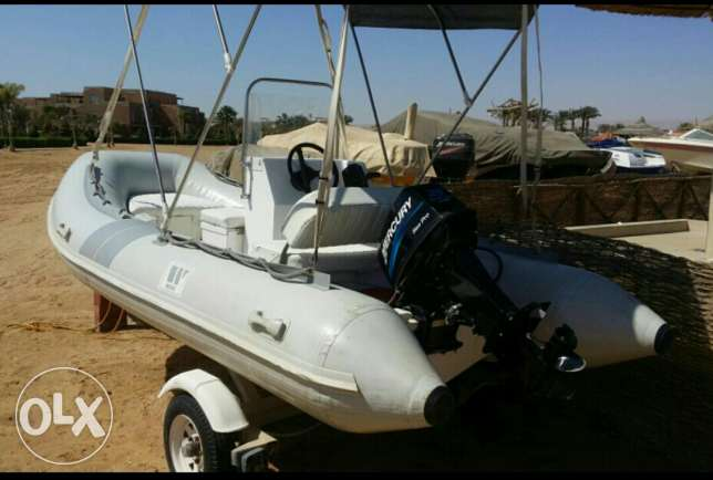 زودياك 420cm wave 25 hp mercury العين السخنة -  2