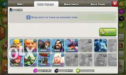 Clash of clans town hall 7 half max