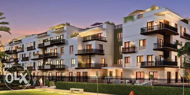 Sodic Eastown apartment 190m+garden ready to delivery