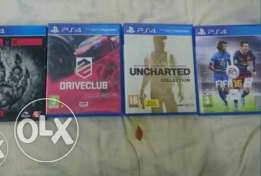 Uncherted..Drive club evolve ..fifa16