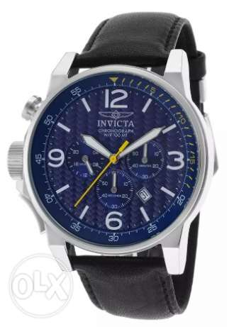 Invicta Silver Original BrandNew Black x Blue