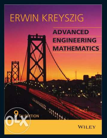 Advanced Engineering Mathematics by Erwin Kreyszig - 9th edition 6 أكتوبر -  1