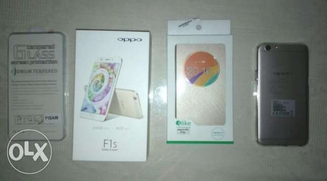 OPPO F1S , Gold, 64 gb , 4gb Ram, used for 1 week, exactly like zero w