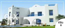 villa for sale at mountain view north coast santorny island