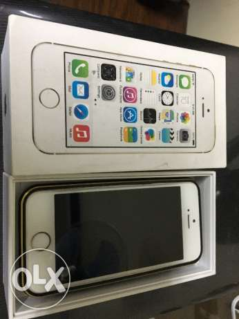 iphone 5S 16g GOLD as new القاهره -  1