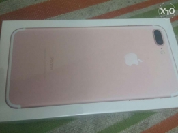 Iphone 7+ rose gold 32GB new