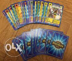Digimon Trading Card Game 46 original cards