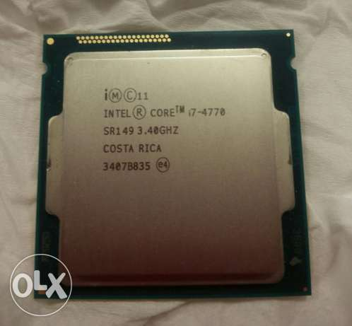 للبيع Intel® Core™ i7-4770 Processor (8M Cache, up to 3.90 GHz)