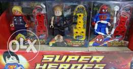 Lego super heroes collection (Marvel & D.C) New unboxed