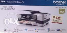 Brother J 3520 Wireless/Color A3 (Printer/Copier/Scanner/Fax (TESTED)