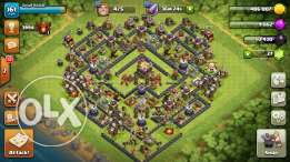 Clash of clans town 11 max