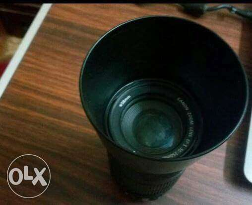 Lens Canon 55 - 250 For Sale بولاق الدكرور -  3