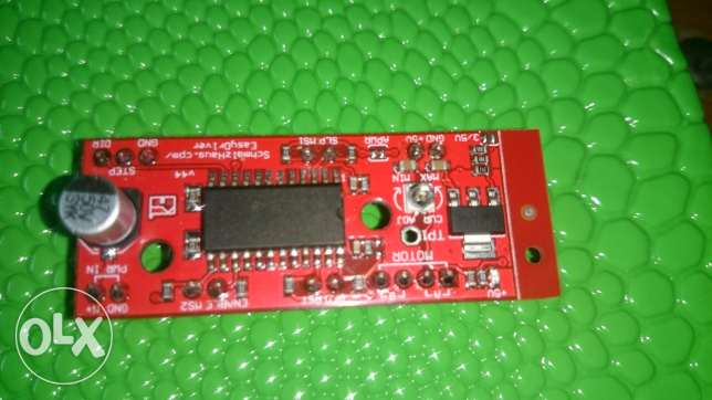 Stepper drive microstepping easydriver