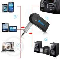 Portable Car A2DP Wireless Bluetooth AUX Audio Music Receiver Adapter