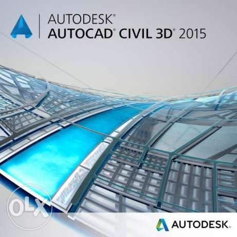 Auto CAD Civil 3D 2015 Full With Crack الزيتون -  1