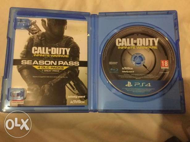 Call of Duty Infinite ps4 like new و فيها عربي