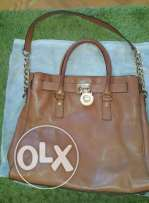 Used Micheal Mk large saffiano hamilton bag