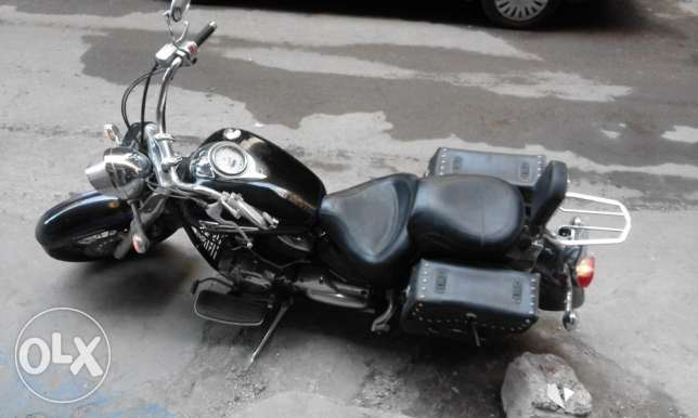 One of a Kind Yamaha V-Star imported from Canada