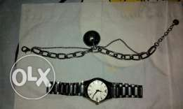 Original Armani watch with its Bracelet used in good condition