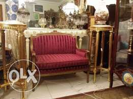 very elegant old sofa 2 sets in a very good condition very fine