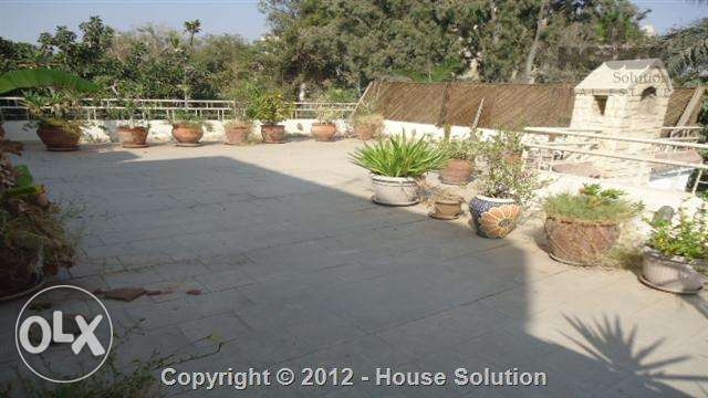 Apartment With Roof For Rent In Maadi Sarayat