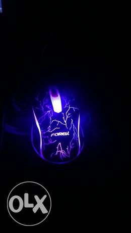 gaming mouse lighting