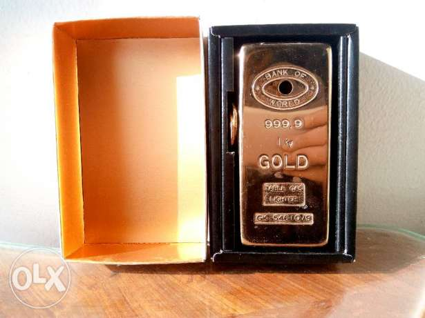 golden original lighter for men
