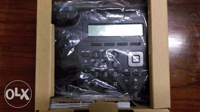 (New) Panasonic KX-UT113 Basic SIP Desktop PoE Phone - IP Phone