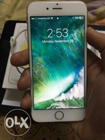 iphone 6s 64g gold god condition مدينة نصر -  3