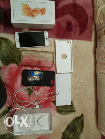 ايفون 6s 64 gold rose with face time