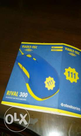 Steel series mouse rival 300 fallout edition عين شمس -  5