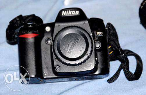 For sell Nikon D80 w lens 70-35mm w shutr 6k حدائق القبة -  4