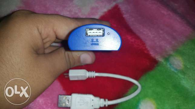Sony Power bank 3000mah with box and cable الزيتون -  3