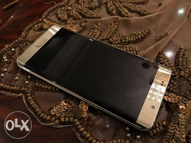 samsung galaxy s6 edge plus gold as new مدينة نصر -  1
