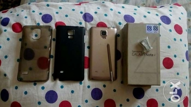 note 4 ..4g ..gold
