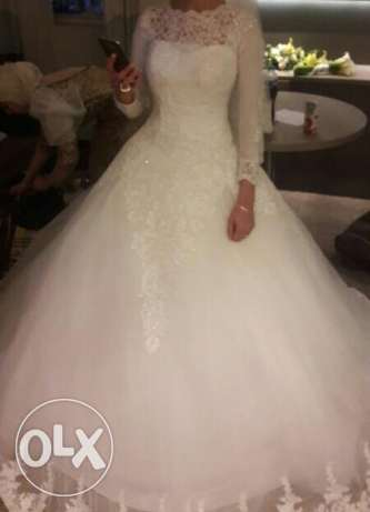 Wedding dress used for one time only