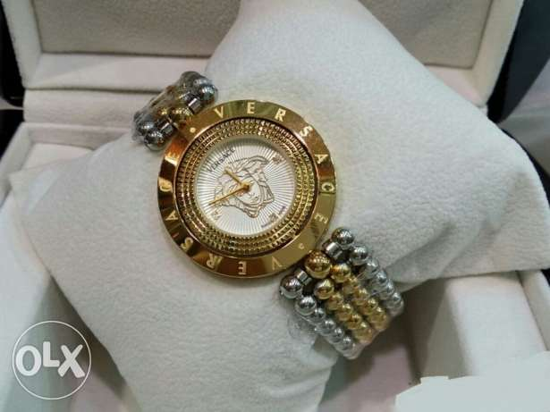Versace Two Tone Women Watch